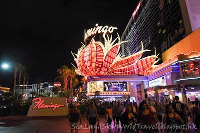 Las Vegas,  Flamingo Hotel 酒店, 拉斯維加斯
