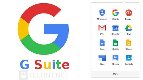 جوجل تجمع كل منتجاتها تحت اسم G Suite تحت شعار جوجل كلاود - التقنية نت - technt.net