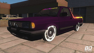 Download ,Mod , Carro, Saveiro Sunset Rebaixada Nas Volcano T5 & Som para GTA San Andreas, GTA SA, Jogo PC
