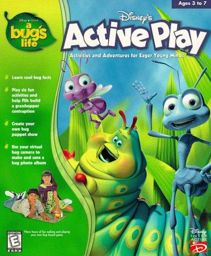 Dan the Pixar Fan: A Bug's Life: Active Play CD-ROM