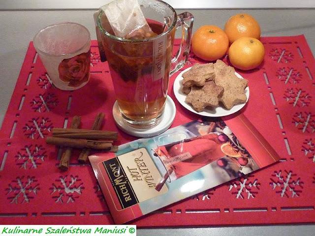 Herbata Rooibos z gruszką i cynamonem