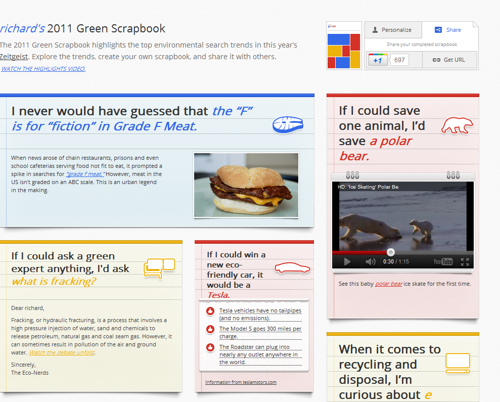 Free Technology For Teachers Make A Green Search Scrapbook With