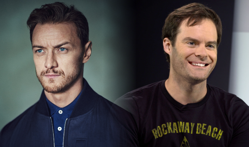 """James McAvoy e Bill Hader estão em negociações para se juntar ao elenco de """"IT: Capítulo 2"""""""