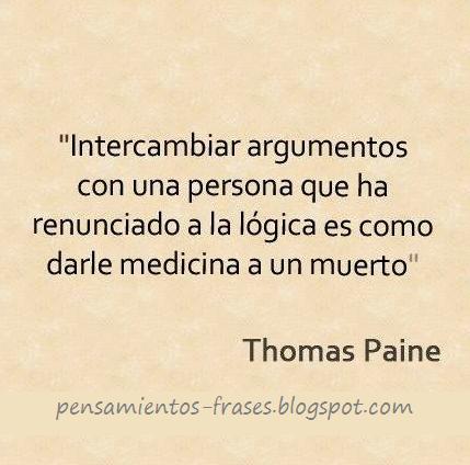 frases de Thomas Paine
