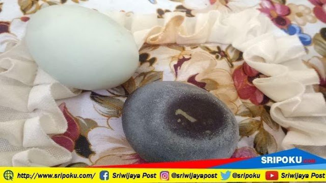 Waw.!! Heboh Telur Bebek Hitam Keluar Angka 1, Sepulang dari Masjid