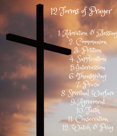 Why We Pray and the 12 Forms of Prayer - Purpose and Love