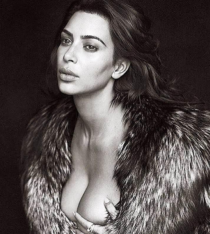 Kim khardashian hot cleavage Photos
