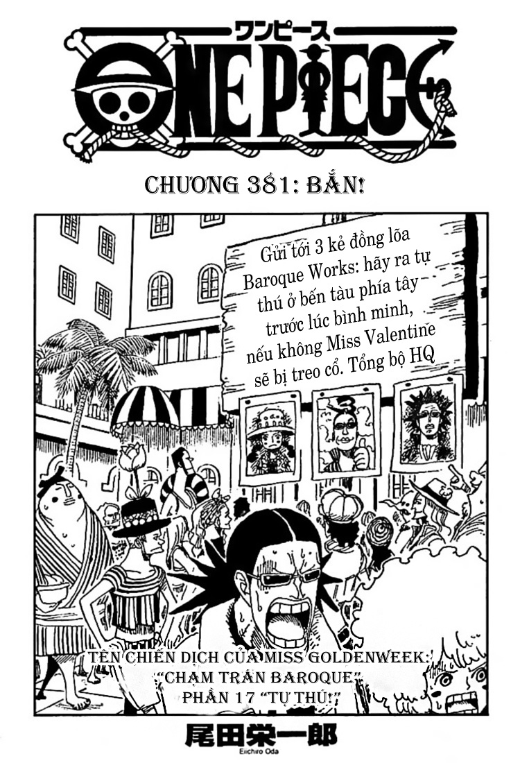 One Piece Chap 381