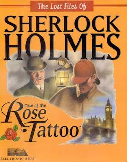 Portada Videojuego Sherlock Holmes El caso de la Rosa Tatuada