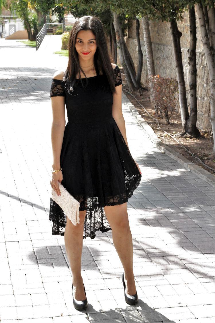 Eventos de Otoño: vestido de encaje