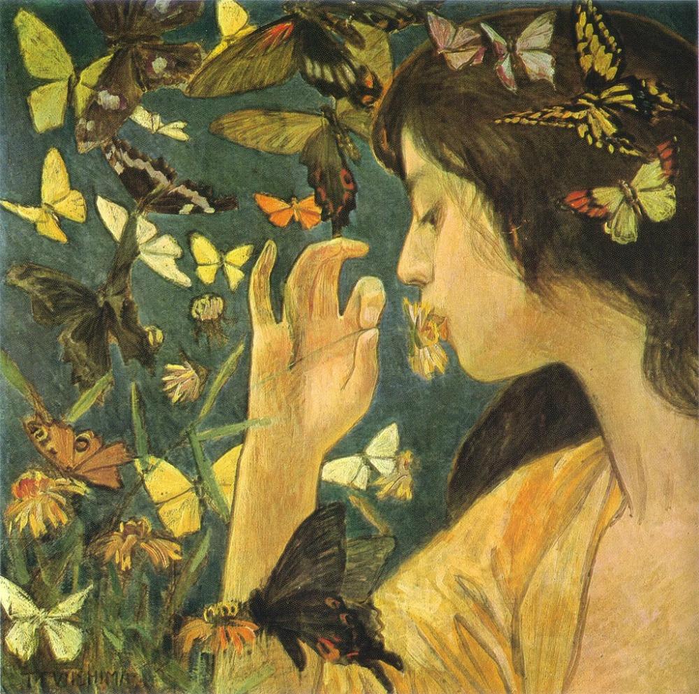 FUJISHIMA Takeji Butterfly 1904