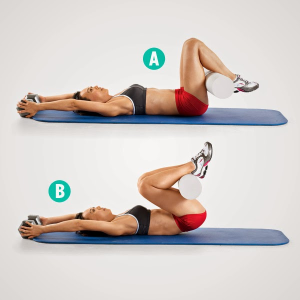 Daily Health Workouts: Tone Your Abs On A Mat: 5 Moves