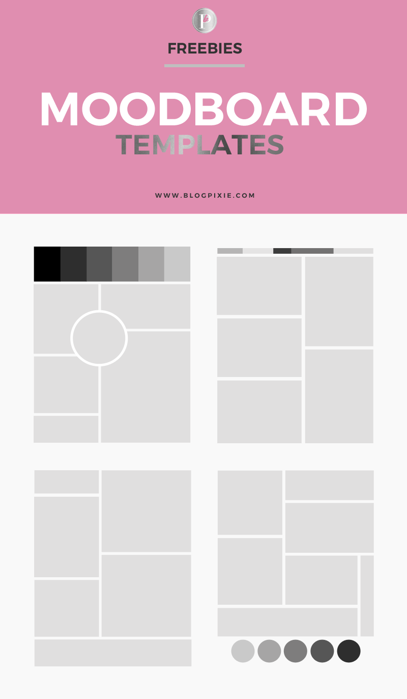 how to create a moodboard free mood board templates