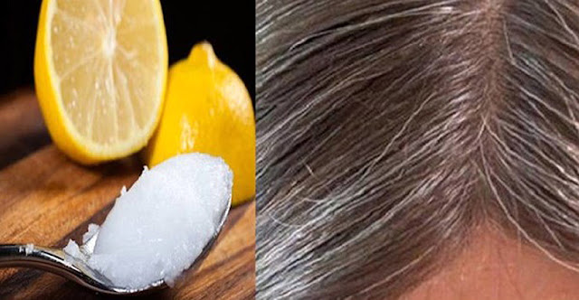 How To Turn Your Gray Hair Back Normal Healthy One Using Coconut Oil & Lemon Mixture
