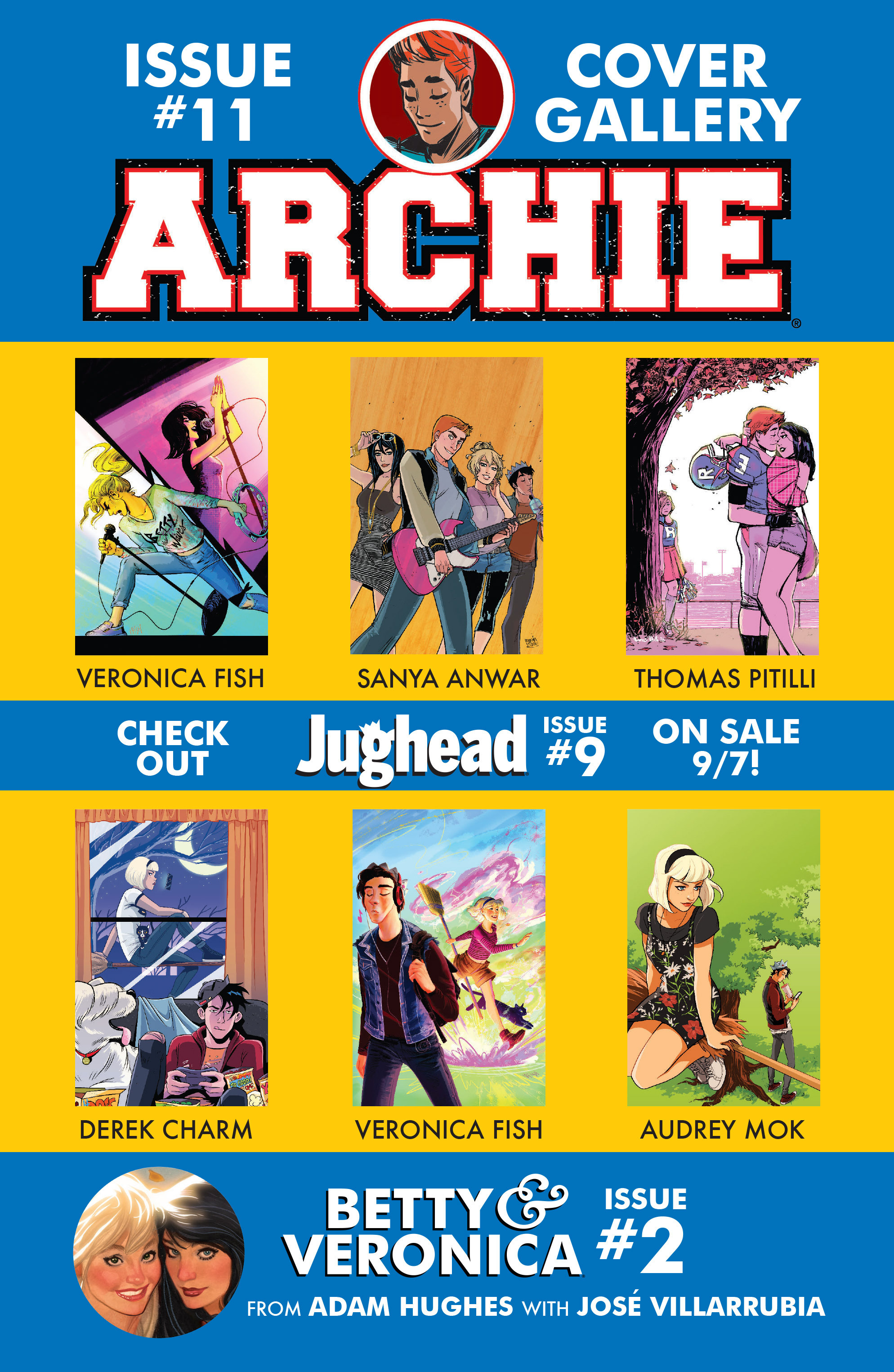 Read online Archie (2015) comic -  Issue #11 - 30