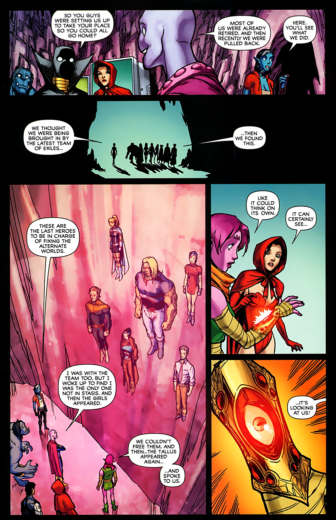 Read online Exiles (2009) comic -  Issue #6 - 27