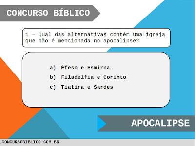 Perguntas Bíblicas Apocalipse
