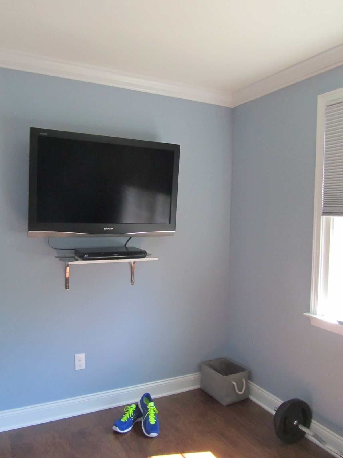 Dress Amp Home Our Home Gym Renovation And Welcome To Dress