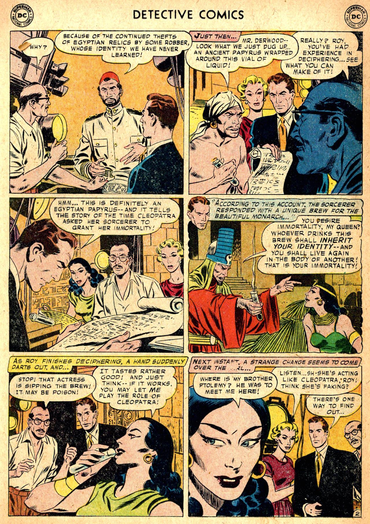Read online Detective Comics (1937) comic -  Issue #257 - 19
