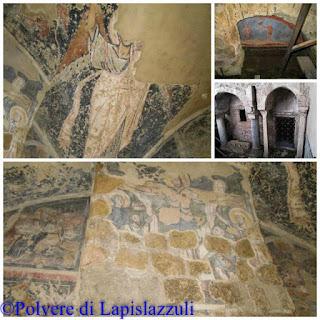 pareti affrescate delle basiliche di Cimitile