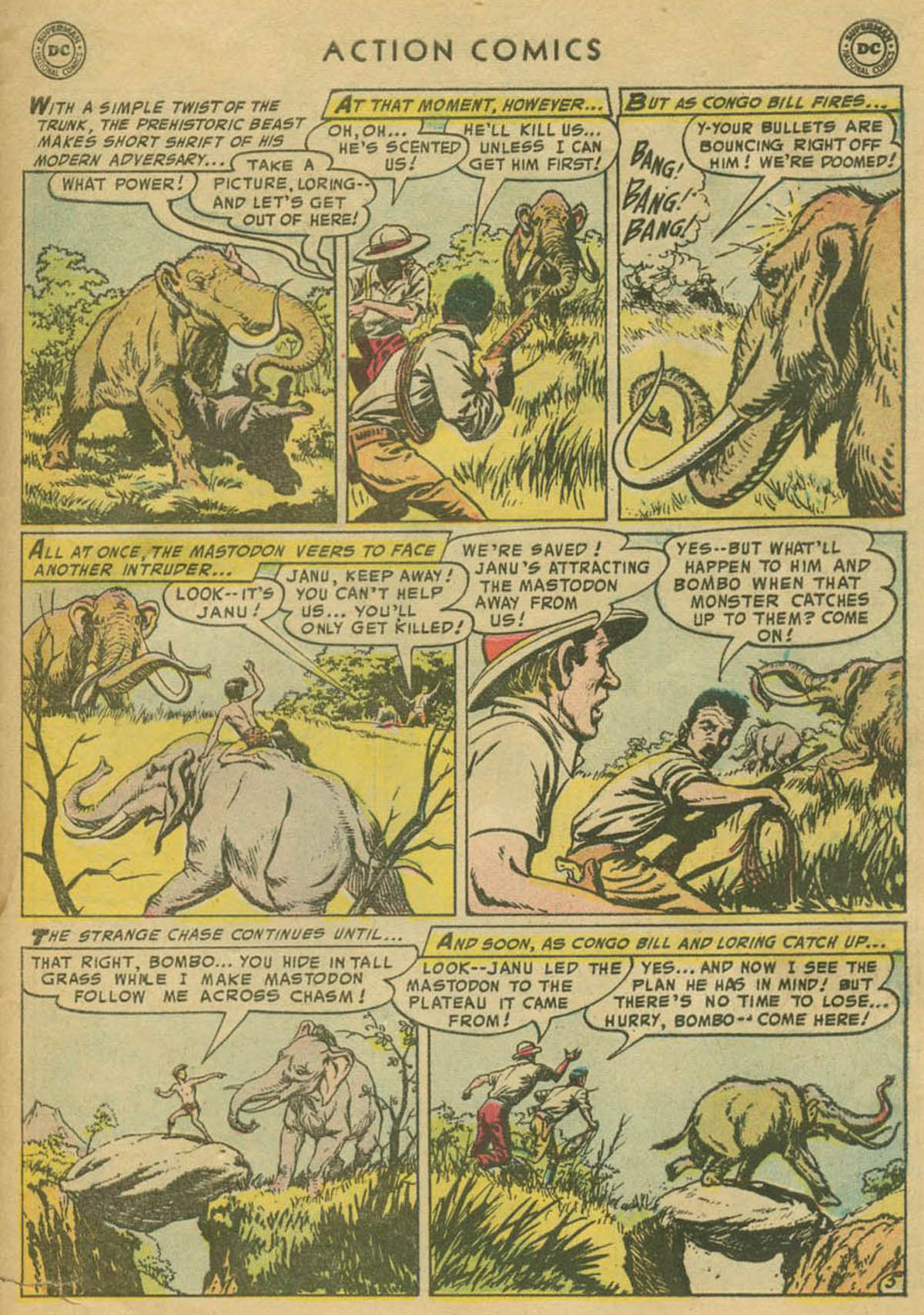 Read online Action Comics (1938) comic -  Issue #208 - 30