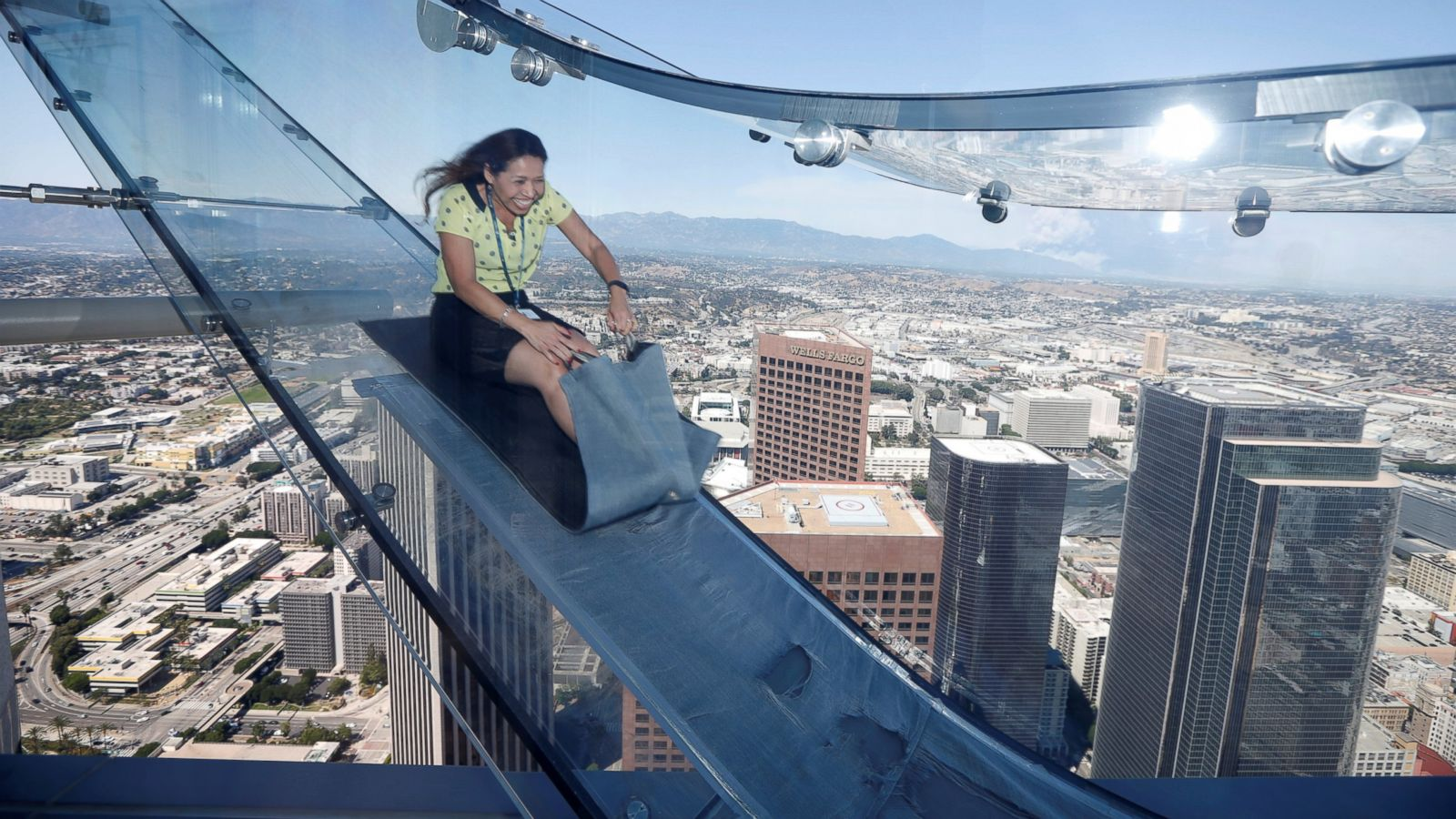 Things To Do In Los Angeles Oue Skyspace Have You Tried The Slide