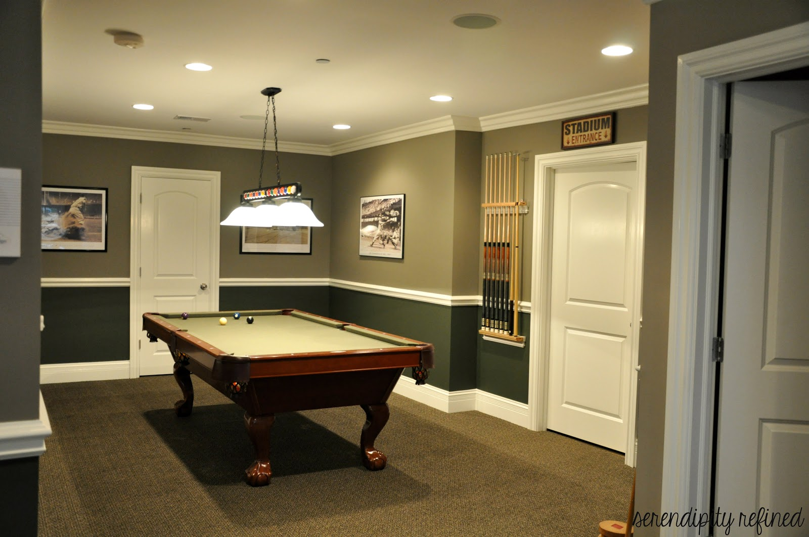 Serendipity Refined Blog: Basement Make Over Reveal and My ...