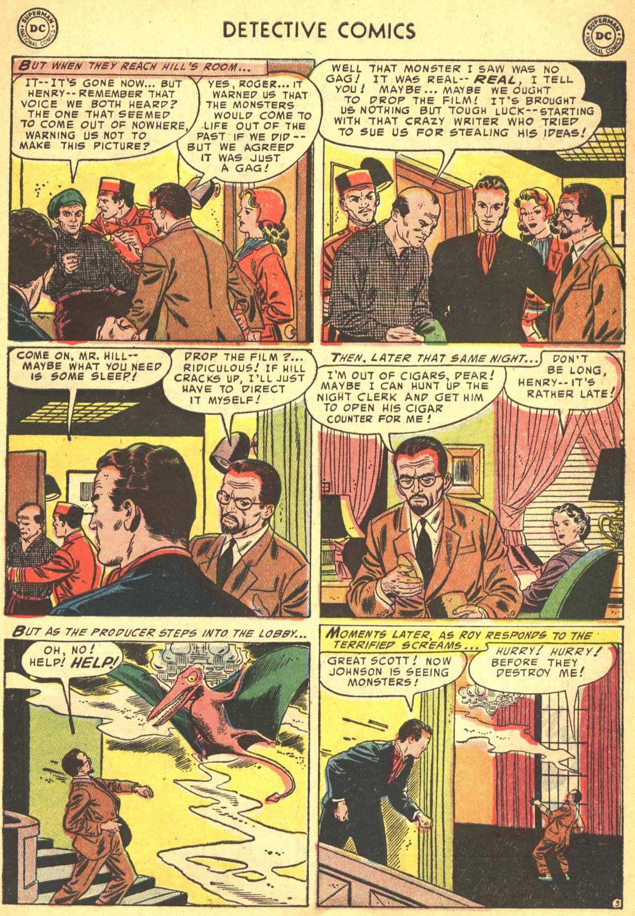 Read online Detective Comics (1937) comic -  Issue #206 - 34