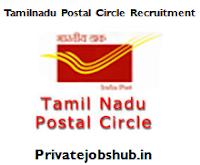 Tamilnadu Postal Circle Recruitment