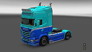 The GodFather skin for Scania RJL