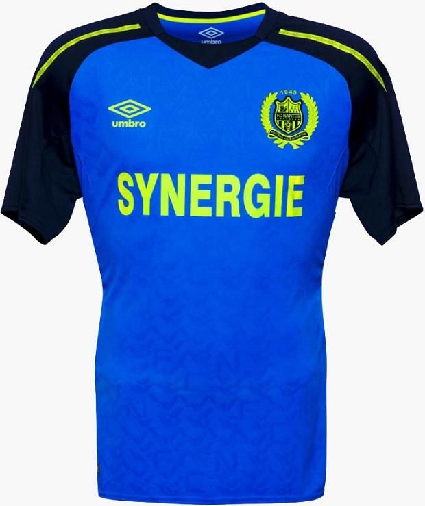 Umbro lança a nova camisa reserva do Nantes - Show de Camisas 206e164de443a