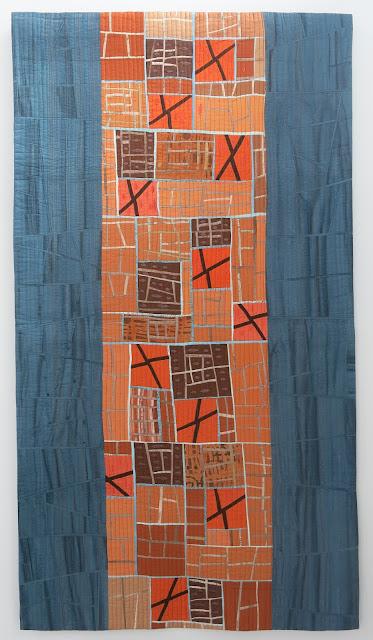 Quilts exhibitions - Karlsruhe Nadelwelt 2017 - Pro und Kontra by Martina Hilgert-Vervoort