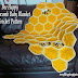 Crochet Pattern: Bee Happy Honeycomb Baby Blanket