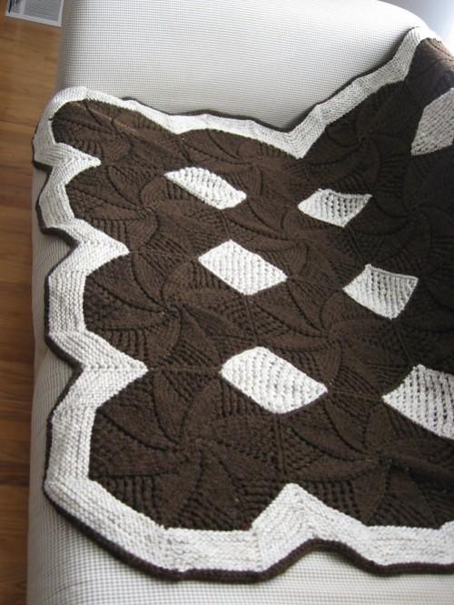 Quilt Look Afghan - Free Pattern
