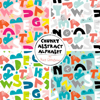 http://www.spoonflower.com/fabric/5159787-chunky-abstract-alphapet-poolside-by-pinky_wittingslow