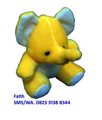 Mainan Boneka Baby Animal Gajah