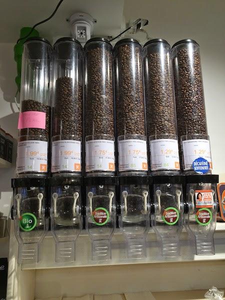 réduire ses déchets : ou acheter du café en vrac ?