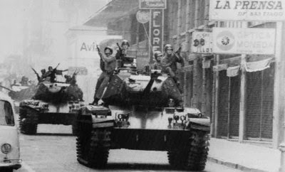 Resultado de imagen para tanquetazo chile 1973
