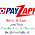 PayZapp Refer & Earn Loot : Get 100% Cashback on Rs.50 Recharge + Rs.25 Per Referral Upto Rs.500