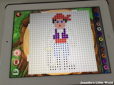 Free Hama bead app for children
