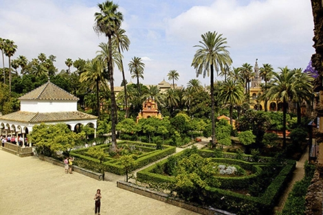 Taman taman indah sebagai sisi hijau kota valencia spanyol for Jardines del real valencia