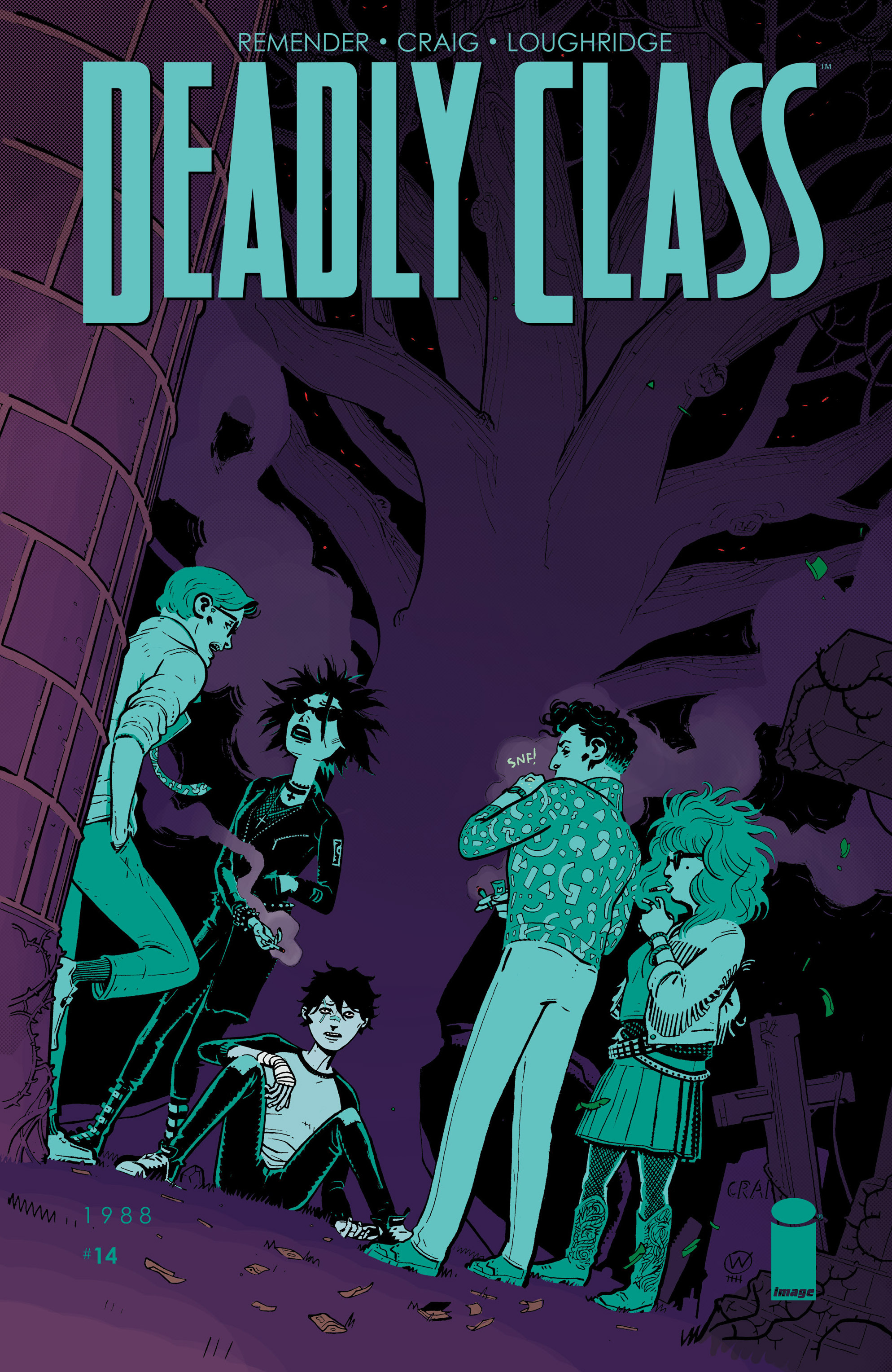 Deadly Class 14 Page 1