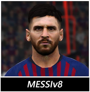 PES 2017 Faces Lionel 🐐 Messi by BenHussam Facemaker