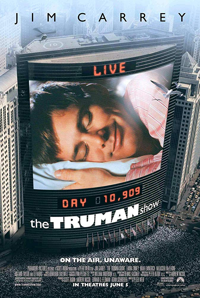 The Truman Show 1998 English Movie Bluray 720p With Bangla Subtitle
