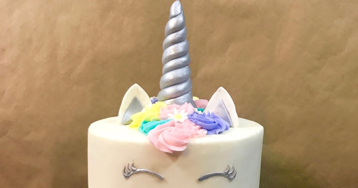 Cakes By Mindy Pastel And Silver Unicorn Cake 8 Quot And