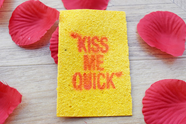 Lush Kiss Me Quick Business Wash Card