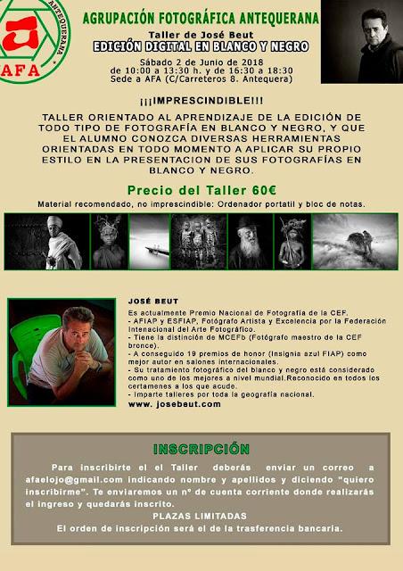 Taller de Fotografía en Antequera