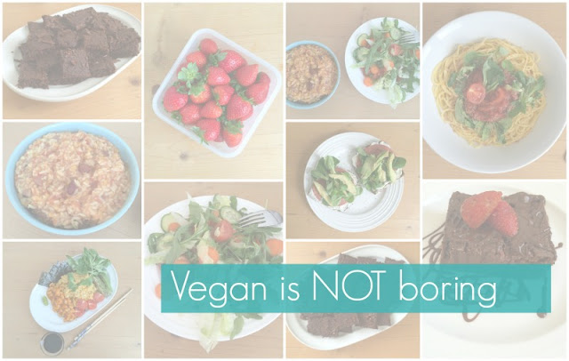 Vegan is NOT boring!