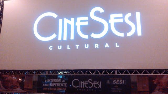 Delmirenses prestigiam o último dia do Cine Sesi Cultural em Delmiro Gouveia