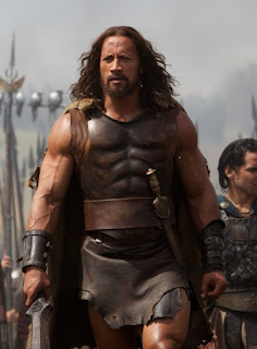 Dwayne Johnson as Hercules in the 2014 movie. A review